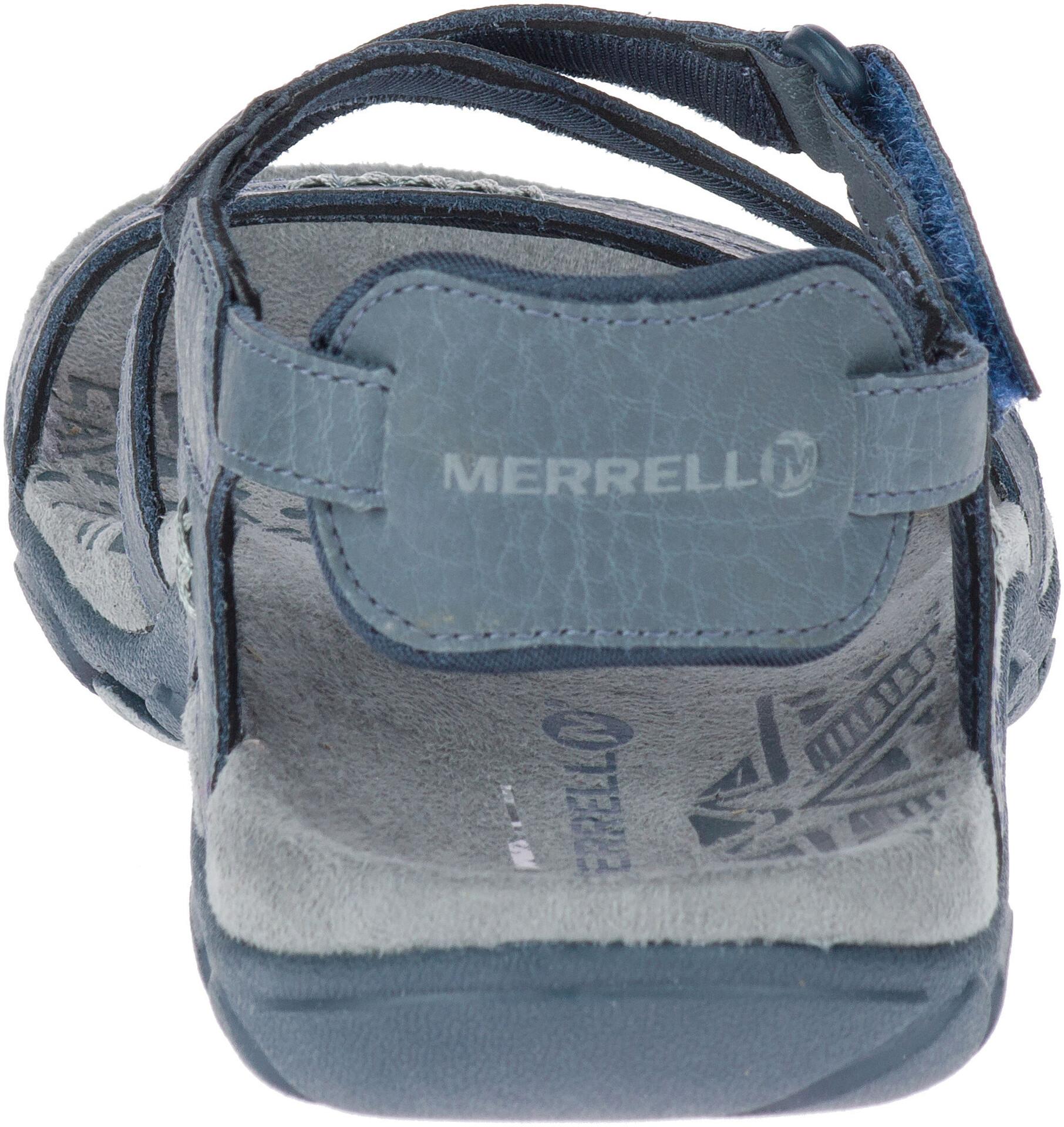 Bleu Campz Femme Sandspur Rose Sandales Sur Merrell Leather IvYgfb76y